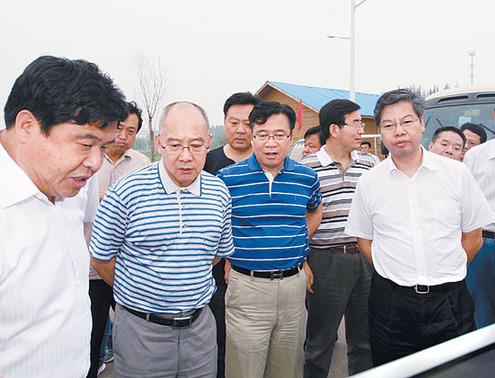 青旅集团公司经张骏一来衡水考察