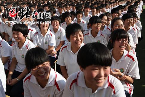 《意林》励志演讲全国巡讲团莅临衡水十三中学