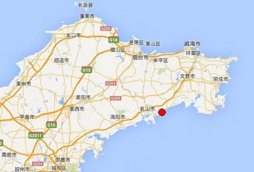 威海环�9��9�(y�-z)_山东省威海市乳山市发生4.0级地震 震源深度9公里