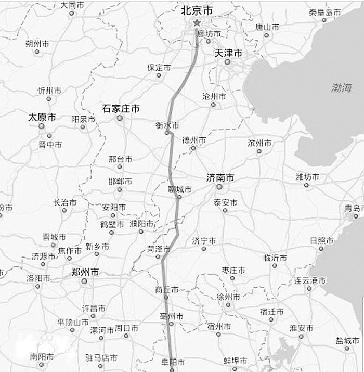 京九高铁走向确定 途径衡水等地 图